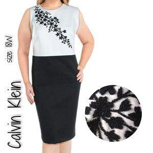 Calvin Klein Plus Size Sleeveless Embellished Shea